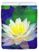 Lotus Grace Duvet Cover