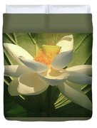 Lotus Light Duvet Cover