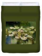 Lotus Pond 1 Duvet Cover