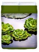 Lotus Pond Duvet Cover