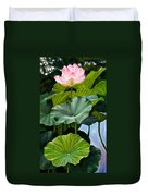Lotus Rising Duvet Cover