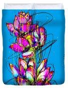 Lotuses  Duvet Cover