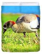 Loud Duck Colors Duvet Cover
