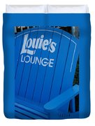 Louie S Lounge Duvet Cover