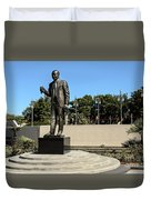 Louis Armstrong - Jazz Musician - New Orleans Duvet Cover