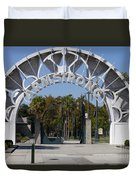 Louis Armstrong Park - New Orleans Louisiana Duvet Cover