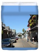 Louis Armstrong Park - Straight Ahead - New Orleans Duvet Cover