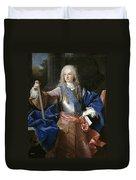 Louis De Bourbon Of Savoy. Prince Of Asturias. Later Louis I Of Spain  Duvet Cover