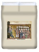 Louis Ix (1214-1270) Duvet Cover