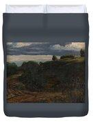 Louis Michel Eilshemius American 1864-1941 Summer Twilight, 1884 Duvet Cover