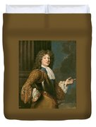 Louis Of France The Grand Dauphin Duvet Cover