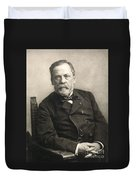 Louis Pasteur (1822-1895) Duvet Cover