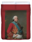 Louis Philippe D'orleans As Duke Of Orleans Duvet Cover