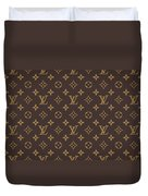 Louis Vuitton Texture Duvet Cover