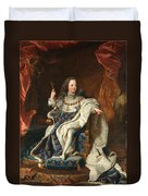 Louis Xv Of France As A Child Duvet Cover