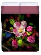 Louisa Apple Blossom 001 Duvet Cover