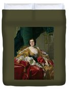 Louise-elisabeth Of France, Wife Of The Infante Philip, Future Duke Of Parma Duvet Cover