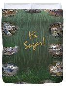 Louisiana Sugar Cane Poster 2008-2009 Duvet Cover