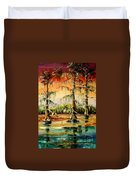 Louisiana Swamp Duvet Cover