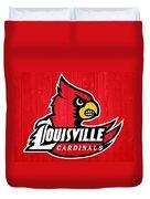 Louisville Cardinals Barn Door Duvet Cover