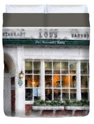 Lou's Of Hanover New Hampshire Duvet Cover