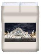 Louvre Museum Art Duvet Cover