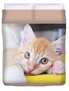 Lovable Cat Duvet Cover