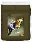 Love 1 Duvet Cover