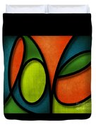 Love - Abstract Duvet Cover