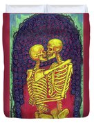 Love And Death Duvet Cover
