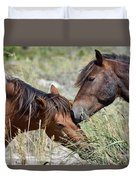 Love And Friendship Duvet Cover