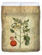 Love Apple Botanical  Duvet Cover