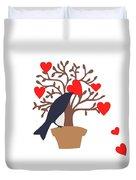 Love Bird Part 2 Duvet Cover
