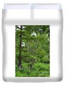 Love Birds And Friends Duvet Cover