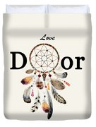 Love Dior Watercolour Dreamcatcher Duvet Cover