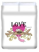 Love Endures Duvet Cover