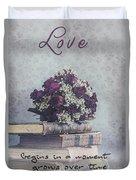 Love Forever Duvet Cover