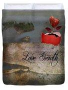 Love Growth - V2t1 Duvet Cover