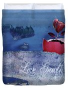 Love Growth - V2t2c3b Duvet Cover