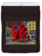 Love In Nyc Duvet Cover