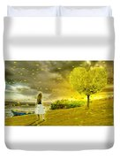 Love Is All Around Us And So The Feeling Grows Duvet Cover
