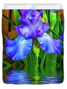 Love Is Blue 2 Duvet Cover