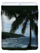 Love Is Eternal - Poponi Maui Hawaii Duvet Cover