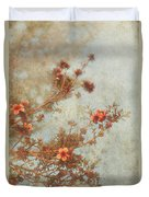 Love Is In Bloom Duvet Cover by Laurie Search
