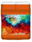 Love Is In The Air Duvet Cover