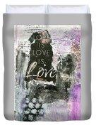 Love Is Love Duvet Cover