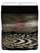 Love Lines Duvet Cover