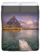 Love Lofoten Duvet Cover