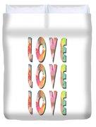 Love Love Love Phone Case Duvet Cover