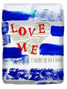 Love Me Duvet Cover